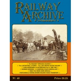 Railway Archive Issue 40
