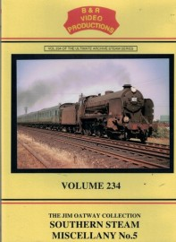 B&R 234 Southern Steam Miscellany No 5