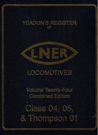 Yeadon Register 24A/B Combined Edition Class 04,05 & Thompson 01