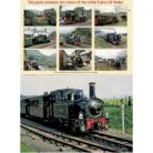 Little Trains Of Wales Set Of 10 Blank Cards Pack 5