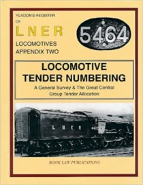 LNER Loco Tender Numbering- Great Central Group Tender Allocations