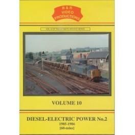 B&R 010 Diesel-Electric Power No 2