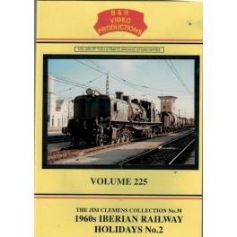 B&R 225 1960s Iberian Railway Holidays No.2