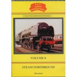 B&R 008 Steam Northbound