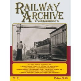 Railway Archive Issue 31