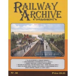 Railway Archive Issue 36