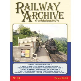 Railway Archive Issue 39