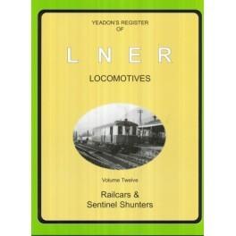 Yeadon Register of LNER Vol 12