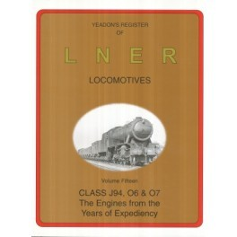 Yeadon Register of LNER Vol 15