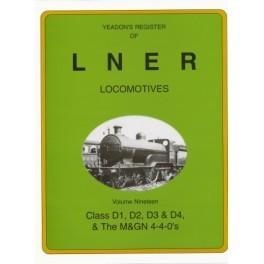 Yeadon Register of LNER Vol 19