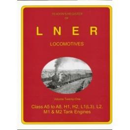 Yeadon Register of LNER Vol 21