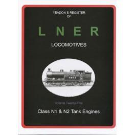 DAM Yeadon Register of LNER Vol 25