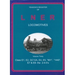 Yeadon register of LNER Vol 30