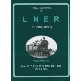 Yeadon Register of LNER Vol 34