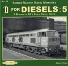 marked cover  D for Diesels 5 no 64