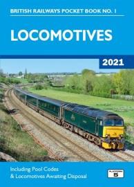 British Railways Pocket Book 1: Locomotives 2021