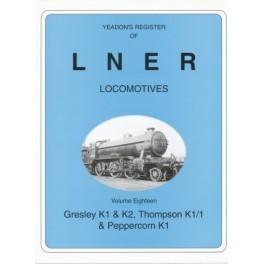 Yeadon Registers of LNER Vol 18